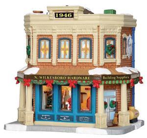 Christmas Houses Village.15282 N Wilkesboro Hardware Lemax Caddington Village Christmas Houses Buildings