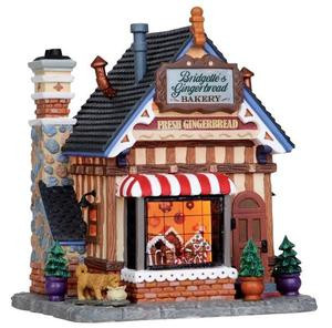 15264 - Bridgette's Gingerbread Bakery - Lemax Caddington Village Christmas Houses & Buildings