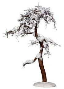 14374 - Winter Cypress Tree, Large - Lemax Christmas Village Trees