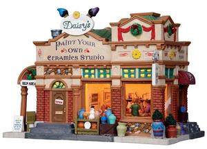 15228 - Daisy's Ceramics Studio - Lemax Harvest Crossing Christmas Houses & Buildings
