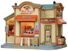 15255 - Herzog's Hot Dogs - Lemax Harvest Crossing Christmas Houses & Buildings