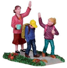 22014 - Back to School  - Lemax Christmas Village Figurines
