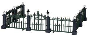 24534 - Classic Victorian Fence, Set of 7  - Lemax Christmas Village Misc. Accessories