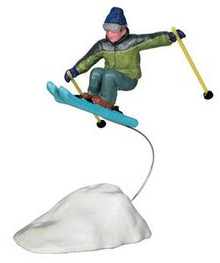 22046 - Catching Air  - Lemax Christmas Village Figurines