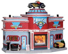 25406 - Cruisin' Café - Lemax Jukebox Junction Christmas Houses & Buildings