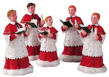 52038 -  The Choir, Set of 5 - Lemax Christmas Village Figurines