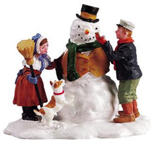 52088 -  Our Snowman - Lemax Christmas Village Figurines