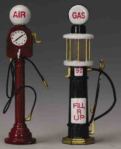 44177 -  Service Pumps, Set of 2 - Lemax Christmas Village Misc. Accessories