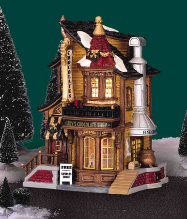 45052 -  Lucy's Chocolate Shop - Lemax Caddington Village Christmas Houses & Buildings