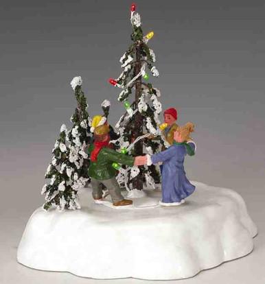 44190 - Merry Christmas Tree - Lemax Christmas Village Trees