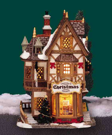 35845 -  Tannenbaum Caddington Shoppe - Lemax Caddington Village Christmas Houses & Buildings