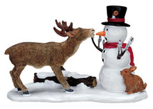 72405 -  Snack Time - Lemax Christmas Village Figurines