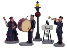62323 -  Christmas Band, Set of 5 - Lemax Christmas Village Figurines