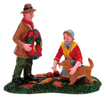 72406 -  Bow from Bow-Wow - Lemax Christmas Village Figurines