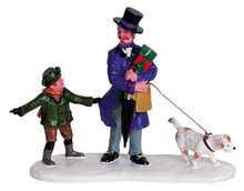 62248 -  Hectic Holidays - Lemax Christmas Village Figurines