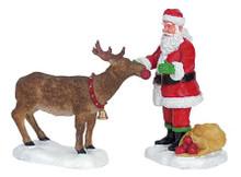 62226 -  Reindeer Treats, Set of 2 - Lemax Christmas Village Figurines