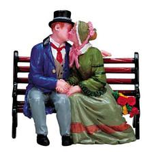 72380 -  The Kiss - Lemax Christmas Village Figurines