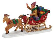 72395 -  Reindeer Sleigh - Lemax Christmas Village Figurines