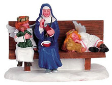 62303 -  Heavenly Hot Cocoa Break - Lemax Christmas Village Figurines