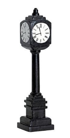 74634 -  Street Clock - Lemax Christmas Village Misc. Accessories