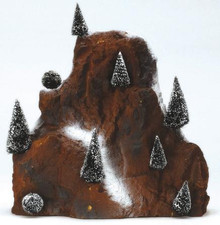 81012 -  Medium Village Mountain Backdrop - Lemax Christmas Village Landscape Items