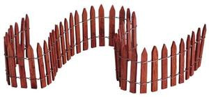 """84813 -  18"""" Wired Wooden Fence - Lemax Christmas Village Misc. Accessories"""