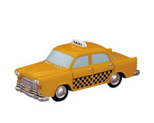 84832 -  Taxi Cab - Lemax Trains & Vehicles;Lemax Misc. Accessories