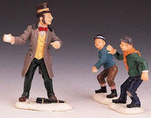 92308 -  Child At Heart, Set of 3 - Lemax Christmas Village Figurines