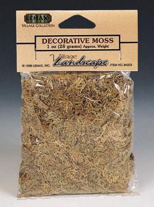 84203 -  Decorative Moss - Lemax Christmas Village Trees