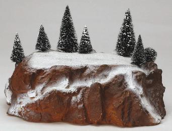 81016 -  Small Display Platform - Lemax Christmas Village Landscape Items