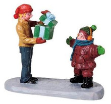 82543 -  What's Inside - Lemax Christmas Village Figurines