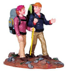 92631 -  Along the Trail - Lemax Christmas Village Figurines