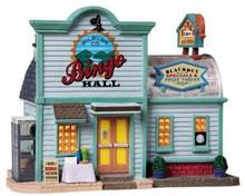 85703 - Wilburn Co. Bingo Hall - Lemax Harvest Crossing Christmas Houses & Buildings