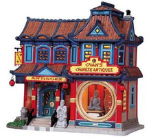 85713 -  Chan's Chinese Antiques - Lemax Caddington Village Christmas Houses & Buildings