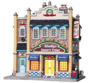 85686 - Woodley's Store - Lemax Harvest Crossing Christmas Houses & Buildings