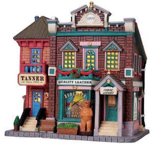 85699 - Gunsmith & Tanner - Lemax Harvest Crossing Christmas Houses & Buildings
