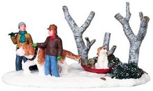 93761 -  Mush! - Lemax Christmas Village Table Pieces