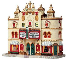 95812 -  Olde Theatre - Lemax Caddington Village Christmas Houses & Buildings