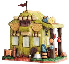 95843 - Rural Point Rustic Tent - Lemax Vail Village Christmas Houses & Buildings