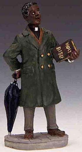 12484 -  Preacher - Lemax Christmas Village Figurines