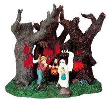94968 -  Lost in the Woods, Battery-Operated (4.5v) - Lemax Spooky Town Halloween Village Accessories