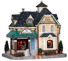 15214 - Sue's Beads & Baubles - Lemax Harvest Crossing Christmas Houses & Buildings