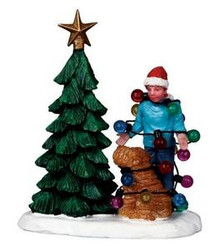02757 - Christmas Tangle -  Lemax Christmas Figurines