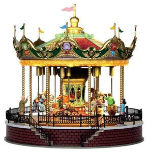 14325 - Sunshine Carousel, with 4.5v Adaptor - Lemax Carnival Series