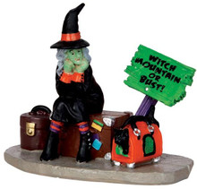 42204 - Stranded Witch  - Lemax Spooky Town Halloween Village Figurines