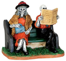 42205 - Really Late Train  - Lemax Spooky Town Halloween Village Figurines