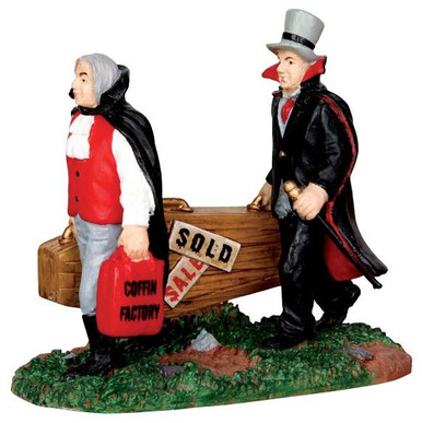 42210 - New Coffins  - Lemax Spooky Town Halloween Village Figurines