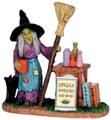 42213 - Spells, Potions & More  - Lemax Spooky Town Halloween Village Figurines