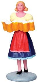 42244 - Brew Maid  - Lemax Christmas Village Figurines