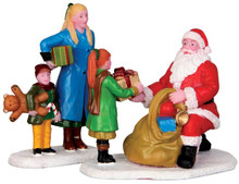 42245 - Presents from Santa, Set of 2  - Lemax Christmas Village Figurines